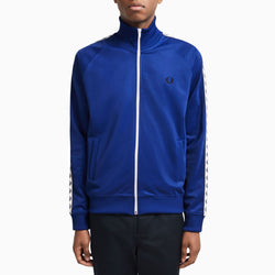 Fred Perry Taped Track Jacket - Cobalt