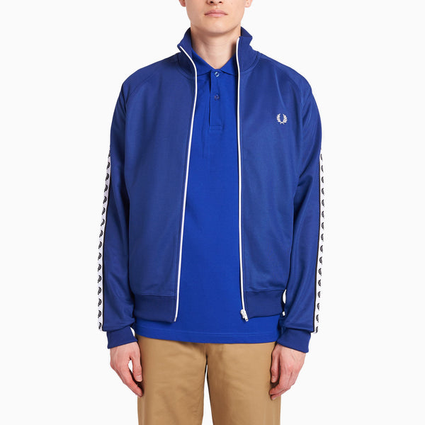 Fred Perry Taped Track Jacket - Nautical Blue