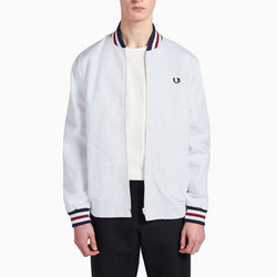 Fred Perry Made In England Bomber Jacket - White