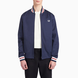 Fred Perry Made In England Bomber Jacket - Navy