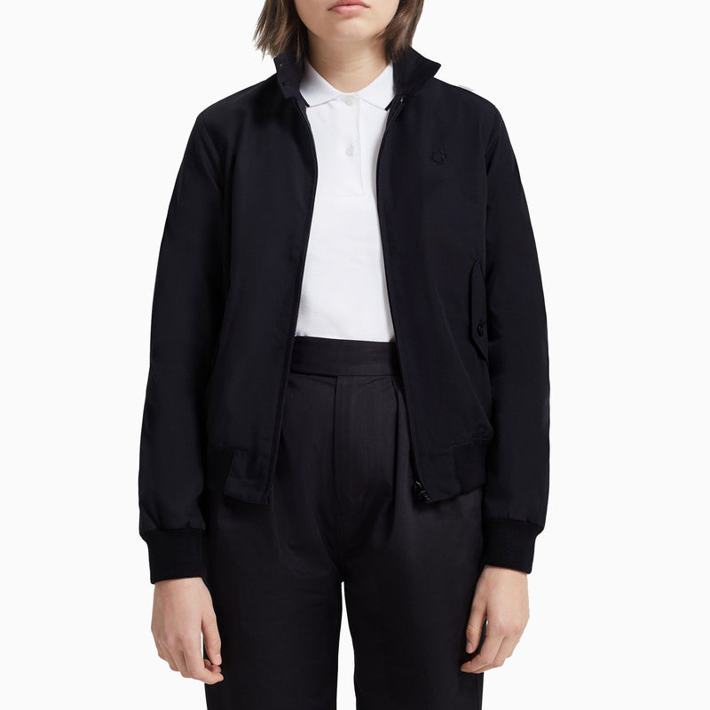 Fred Perry Women's Made in England Classic Harrington Jacket - Black