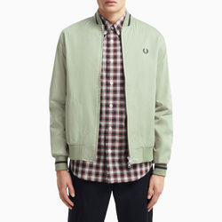 Fred Perry Tennis Bomber Jacket - Light Sage
