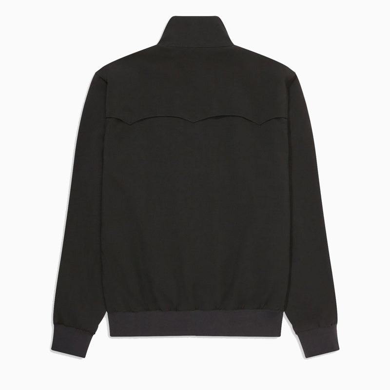 Fred Perry Sharp Harrington Jacket - Black