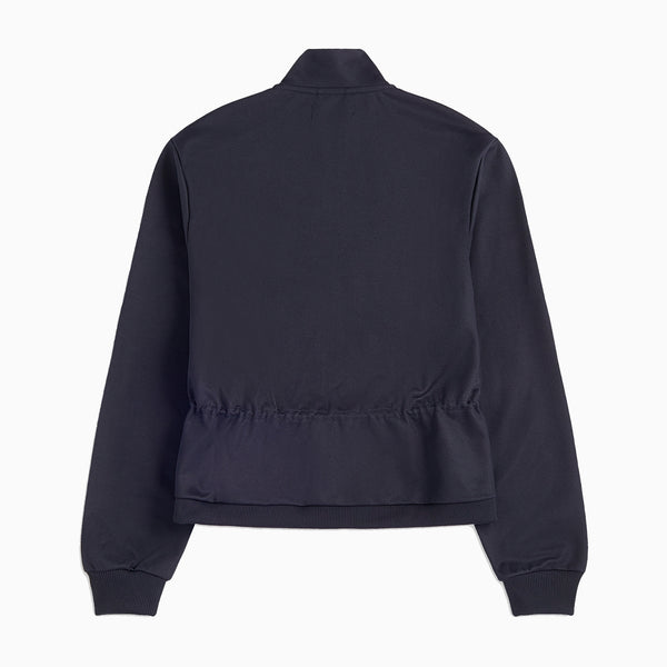 Fred Perry Elasticated Track Jacket- Navy