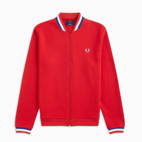 Fred Perry Matchday Bomber Jacket - Salsa