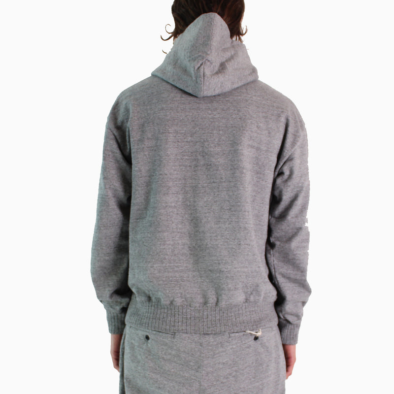 Jackman Dotsume Sweat Parka - 29/ Grey