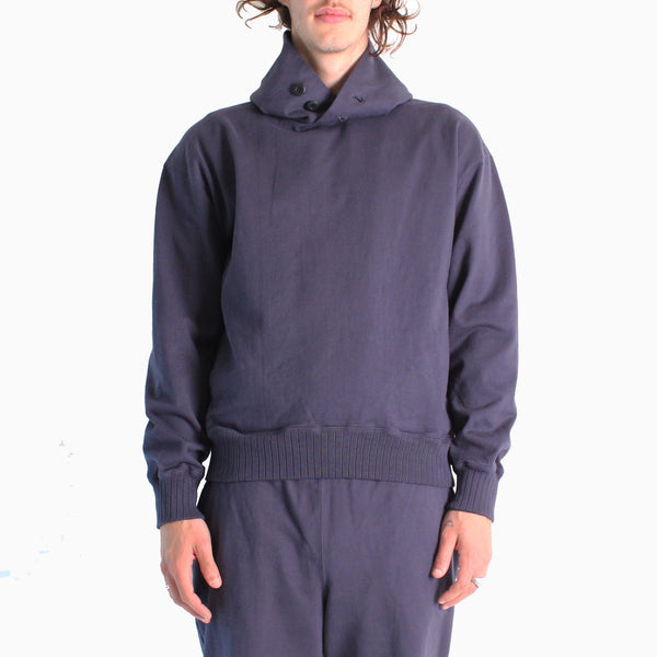 Jackman Dotsume Sweat Parka - 62/ Navy