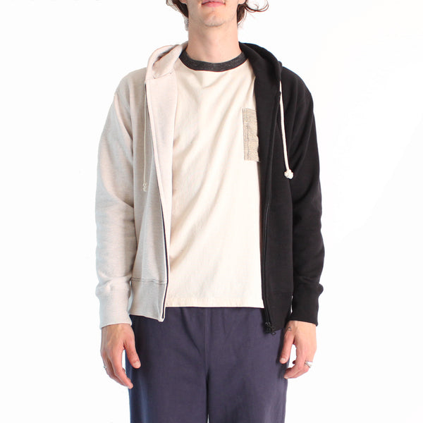 Jackman GG Sweat Parka - 87/Ash/Black