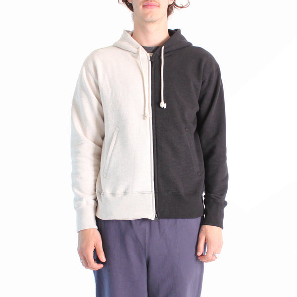 Jackman GG Sweat Parka - 87/ Ash/ Black