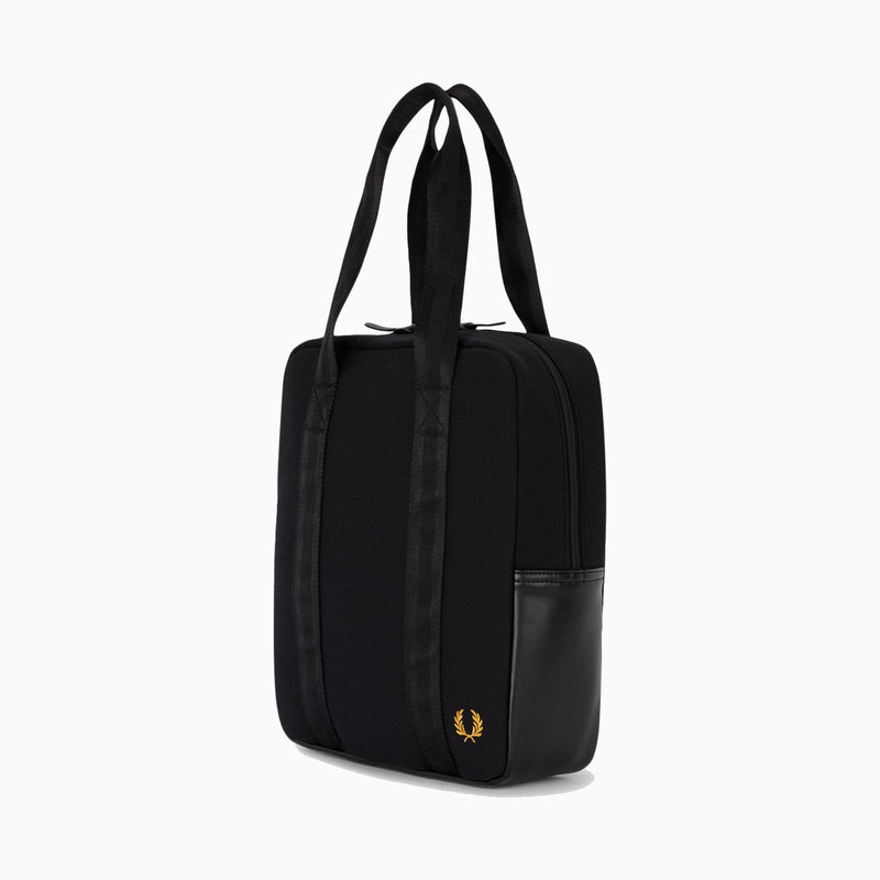 Fred Perry Pique Tote Bag - Black