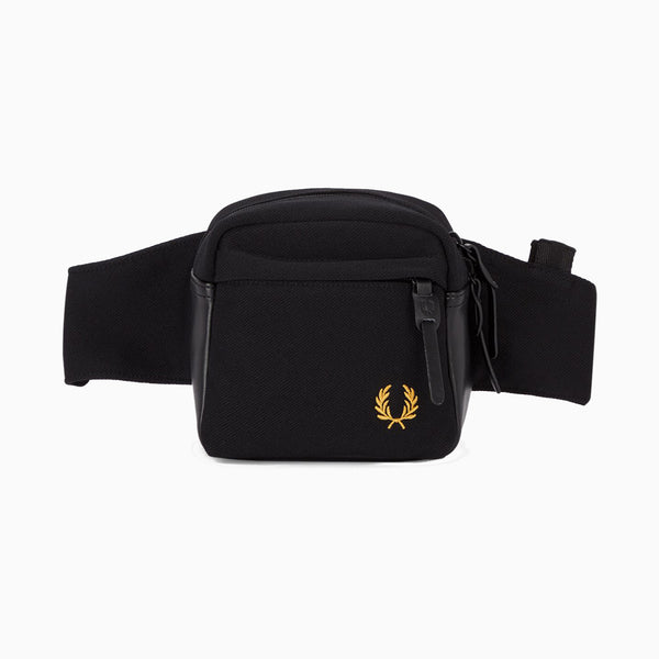 Fred Perry Pique Crossbody - Black