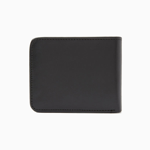 Fred Perry Leather Billfold Wallet - Black