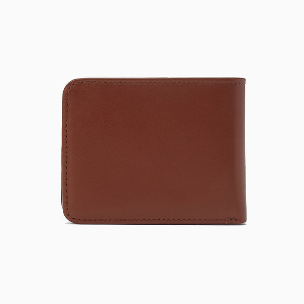 Fred Perry Leather Billfold Wallet - Tan