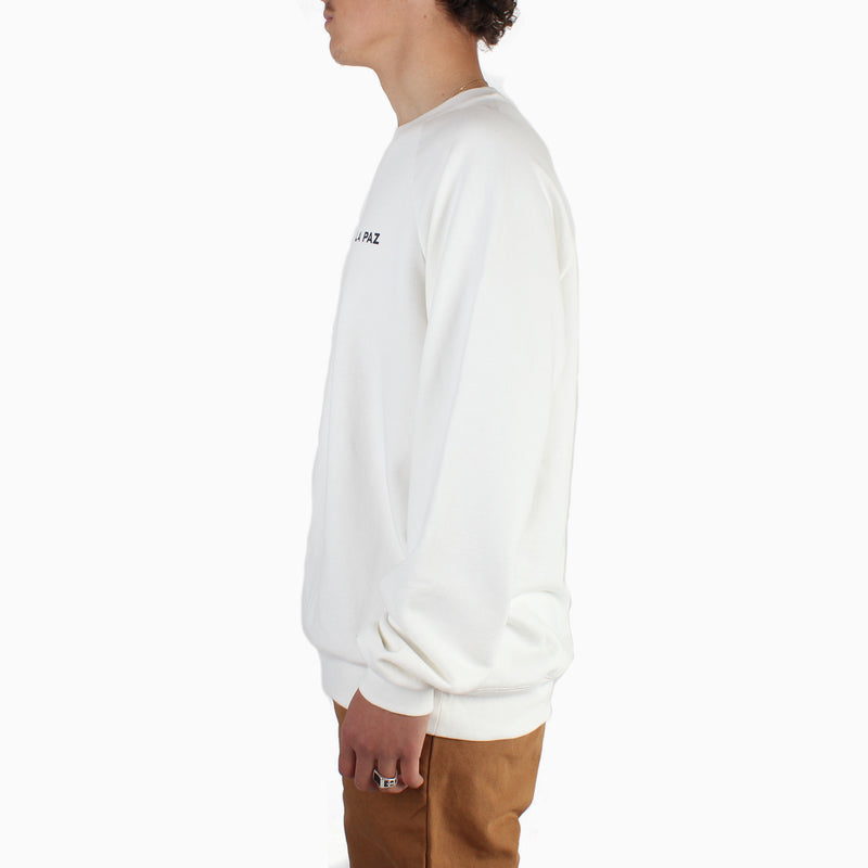 La Paz CUNHA Cotton Sweatshirt - The Sea Is Off-White