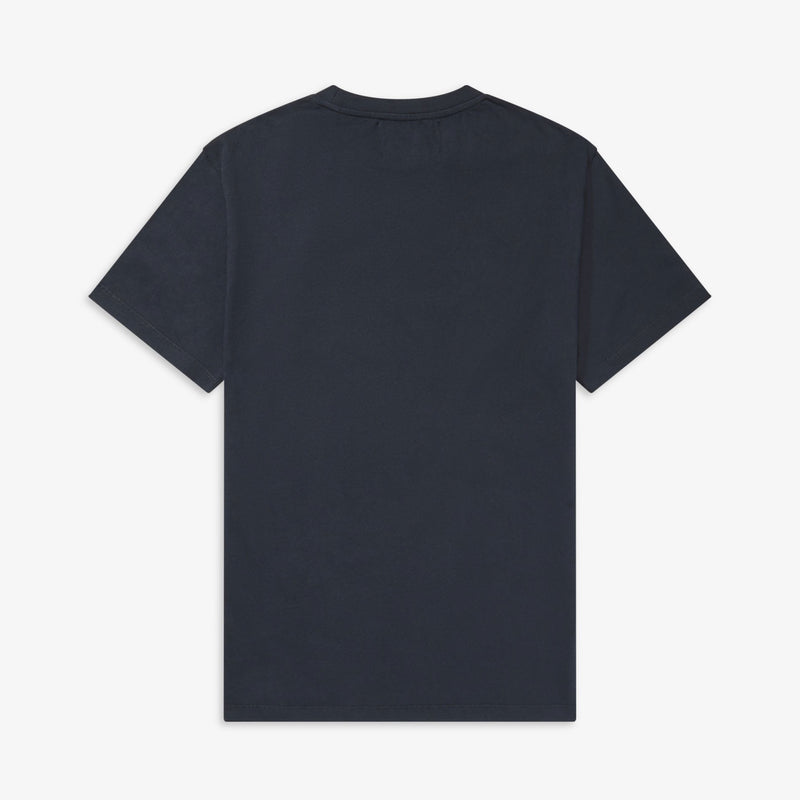 Fred Perry x Raf Simons Laurel Wreath Detail T-Shirt - Navy