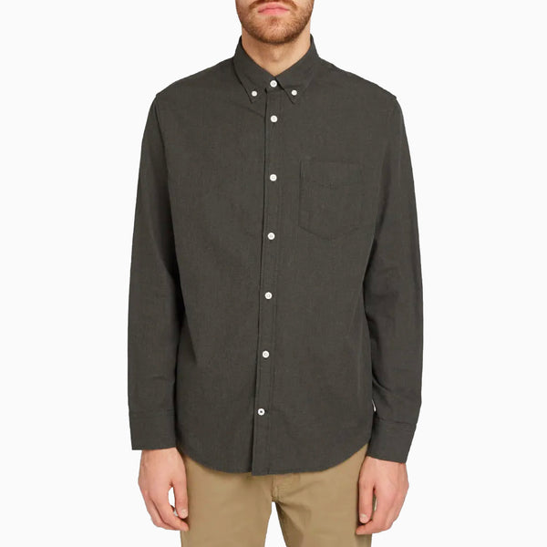 NN07 Levon BD 5722 Shirt - Dark Army