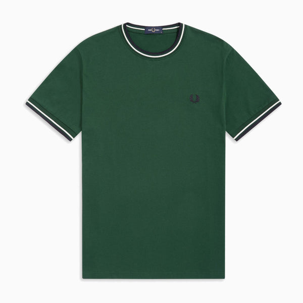 Fred Perry Twin Tipped T-Shirt - Ivy