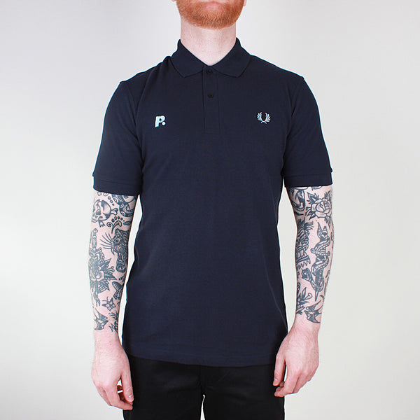 Fred Perry x Prime Embroidered M3 Shirt - Navy