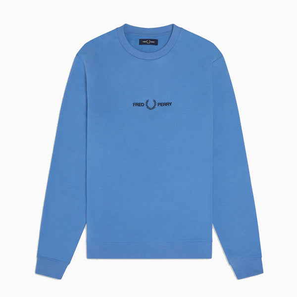 Fred Perry Graphic Sweatshirt - Riviera