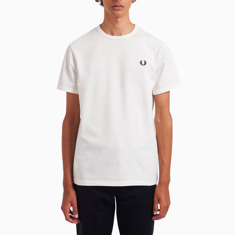 Fred Perry Printed T-Shirt - Snow White