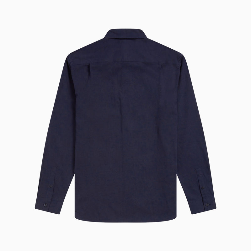 Fred Perry Cord Shirt - Navy