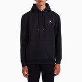 Fred Perry Laurel Wreath Hooded Sweatshirt - Black