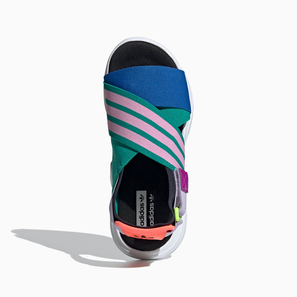 Adidas Magmur Sandal Womens GLORY GREEN/TRUE PINK/GLOW BLUE