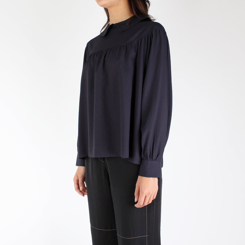 Wood Wood Women's Maia Top - Navy