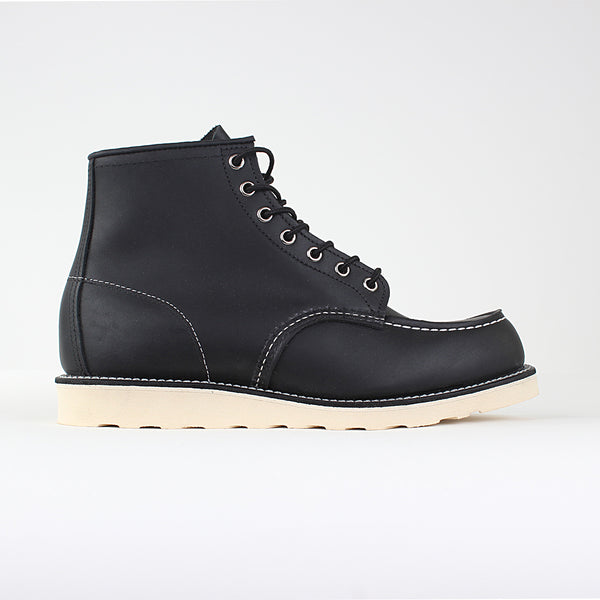 "Red Wing 6"" Moc Toe - Black Harness"