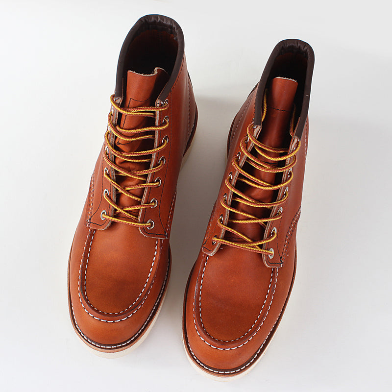"Red Wing 6"" Moc Toe - Oro-iginal"