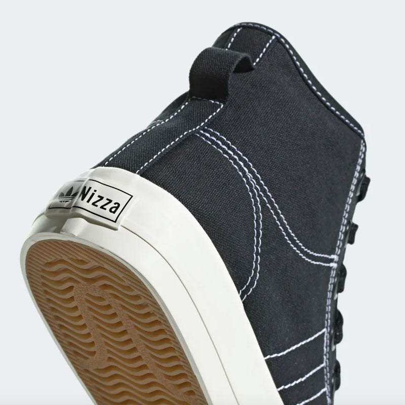 Adidas Nizza RF Hi - Black/White
