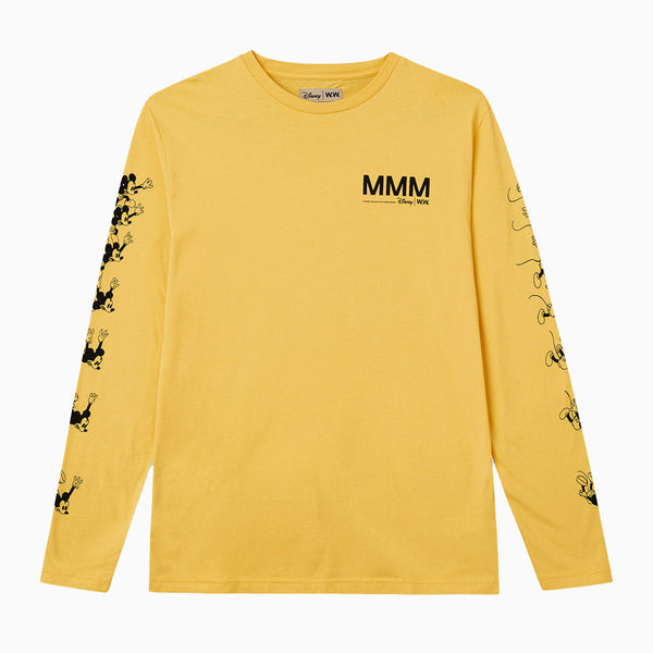 Wood Wood x Disney Peter Long Sleeve - Yellow
