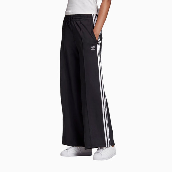 Adidas Primeblue Relaxed Wide Leg Pants - Black