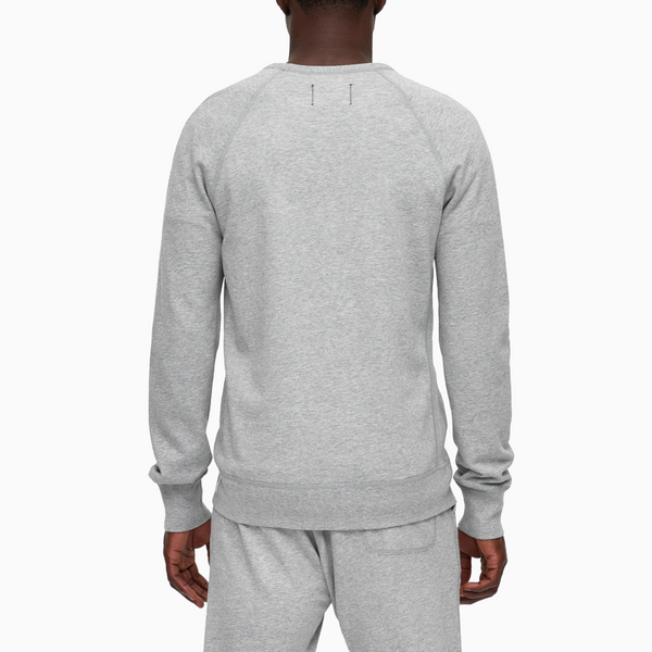 Reigning Champ - Knit Lightweight Terry Crewneck - Heather Grey