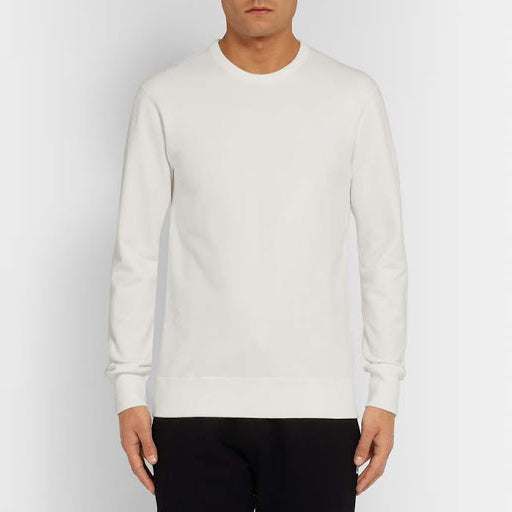 Reigning Champ - Knit Lightweight Terry Crewneck - Off-White