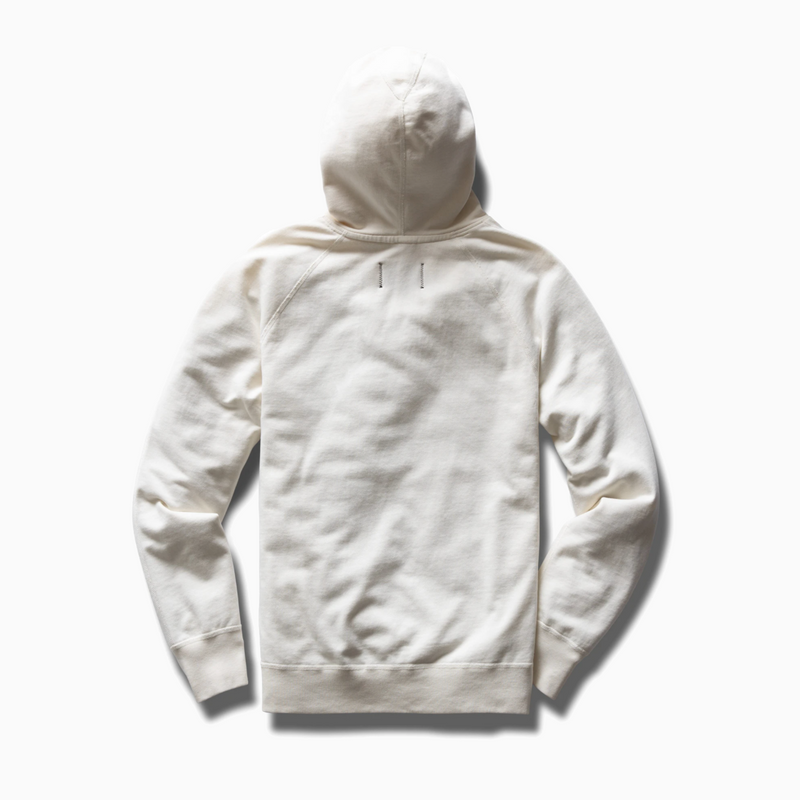 Reigning Champ - Knit Lightweight Terry Pullover Hoodie - Off-White