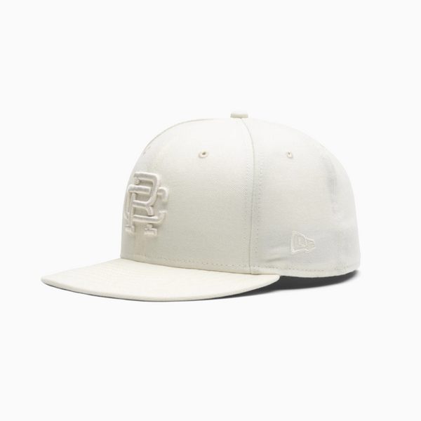 Reigning Champ 59FIFTY Monogram Cap - Off-White