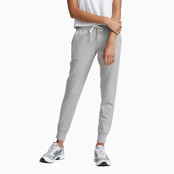 Reigning Champ -Women's Knit Pima Terry Slim Sweatpant - Heather Grey