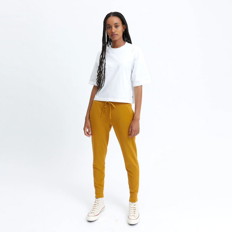 Reigning Champ -Women's Knit Pima Terry Slim Sweatpant - Medallion