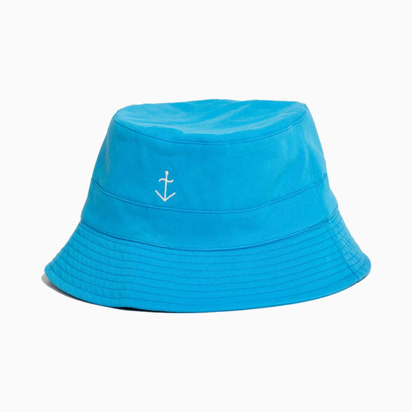 La Paz Cotton Bucket Hat - Cendre Blue
