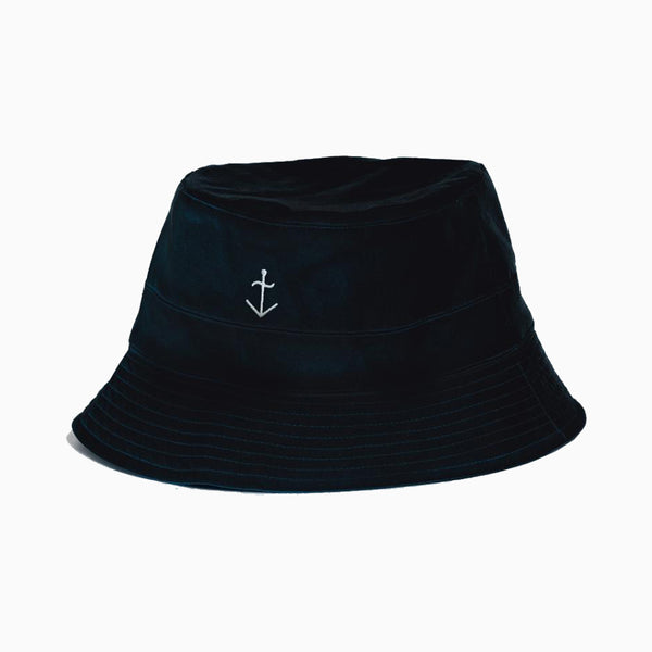 La Paz Cotton Bucket Hat - Navy