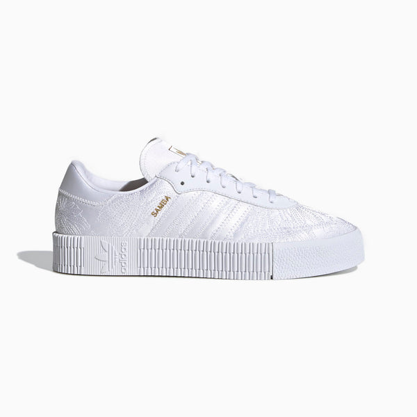 Adidas Sambarose - Cloud White/Gold Metallic
