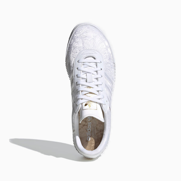 Adidas Sambarose Womens CLOUD WHITE/CLOUD WHITE/GOLD METALLIC