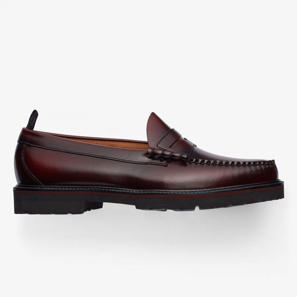 Fred Perry X G.H.Bass Penny Loafer - Ox Blood