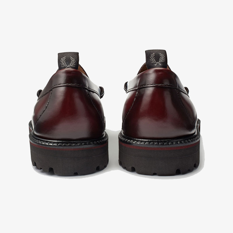 Fred Perry X G.H.Bass Penny Loafer - Ox Blood - SB8070-158