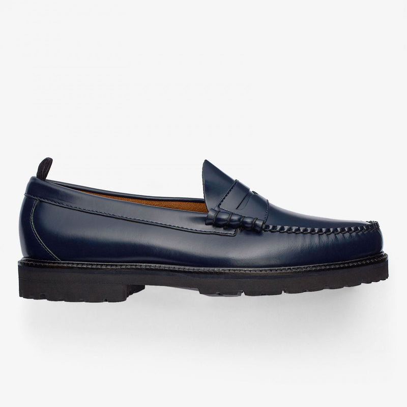 Fred Perry X G.H.Bass Penny Loafer - Navy