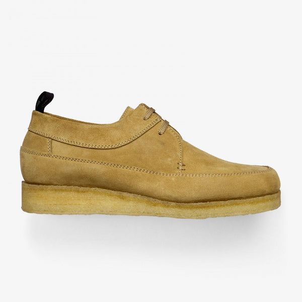 Fred Perry X P&B Suede Mid/Low - Warm Stone