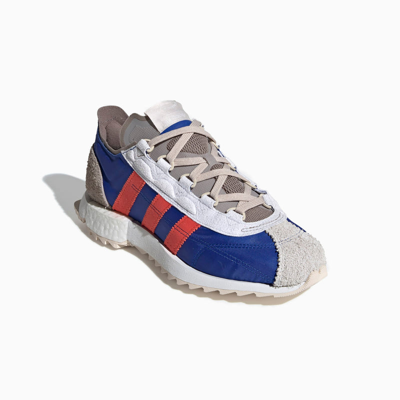 Adidas SL 7600 WORKSHOP - Grey Two / Hi-Res Red / Royal Blue