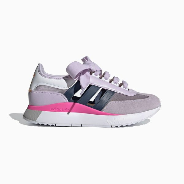 Adidas Women's SL Andridge Lite - Purple Tint/Crew Navy/Screaming Pink