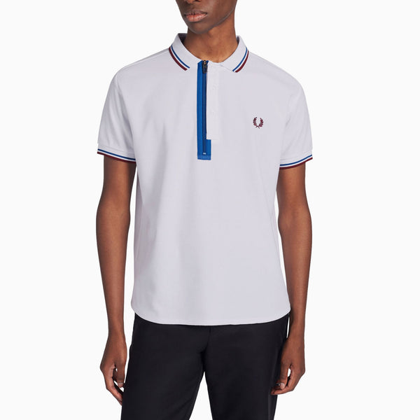 Fred Perry x Narifuri Placket Polo Shirt - White
